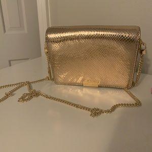 Michael Kors rose gold crossbag